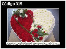 corazones de flores para velaciones