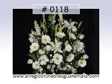 arreglos con flores para condolencias