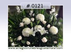 arreglos florales para capilla funebre