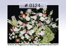 arreglos de flores con hortencias para difuntos