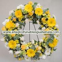 coronas de rosas bellas en guatemala