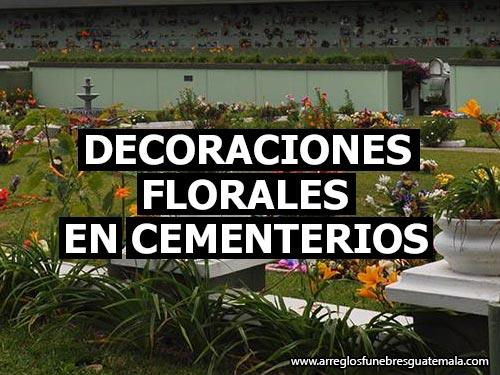 decoraciones florales para cementerios