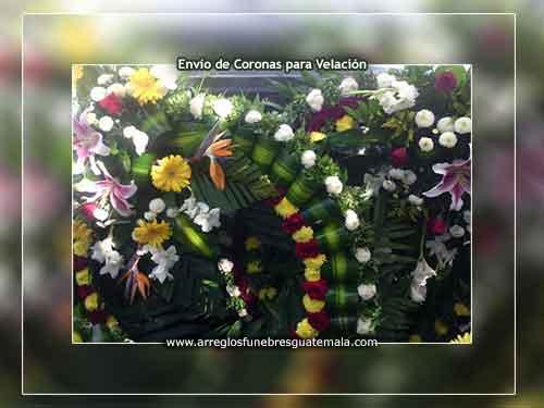 Envío de coronas de flores