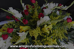 Envió de flores a Chimaltenango