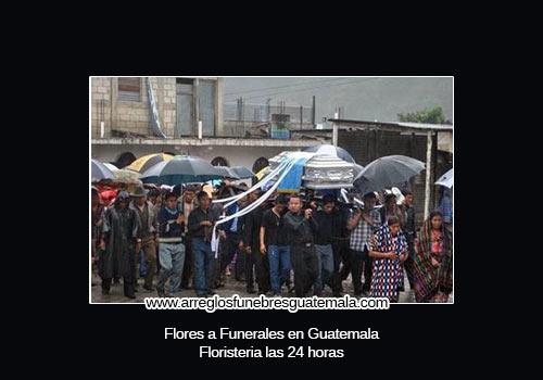 envio de flores a funerales en guatemala
