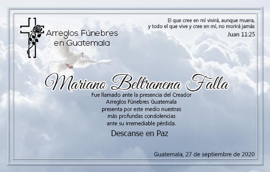 Mariano Beltranena Falla