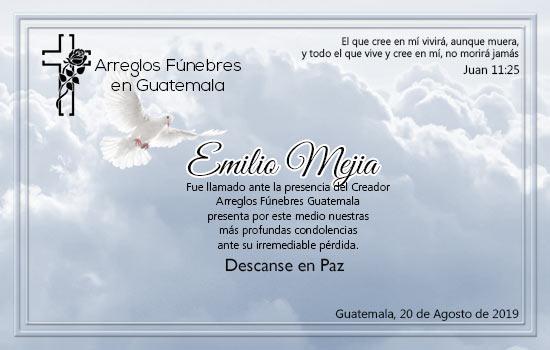 Descanse en Paz Emilio Mejia