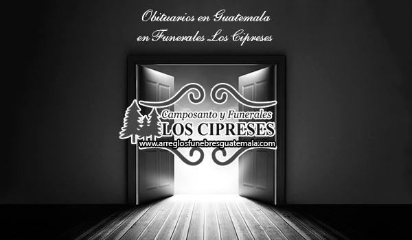 Obituario Los Cipreses